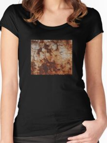 Rusted Metal Women's Fitted Scoop T-Shirt