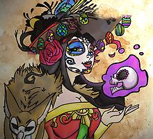 Mexican Death Lady by JJJericho