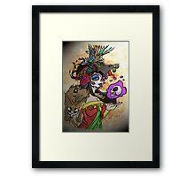 Mexican Death Lady Framed Print