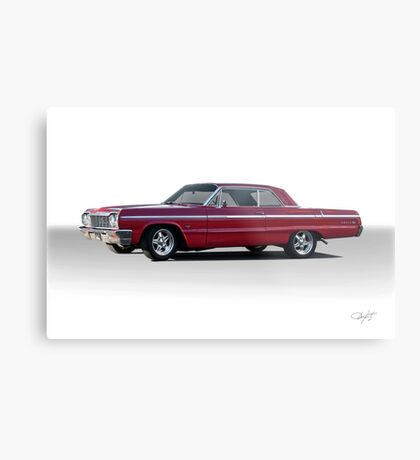 1964 Chevrolet Impala Super Sport Metal Print