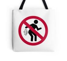 No farting Tote Bag