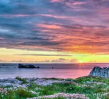 Sunset in France by Joshua McDonough Photography