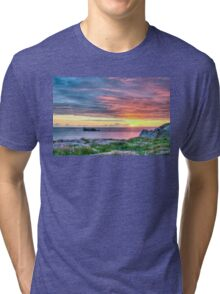 Sunset in France Tri-blend T-Shirt