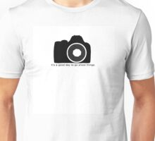 It's a good day to go shoot things Unisex T-Shirt