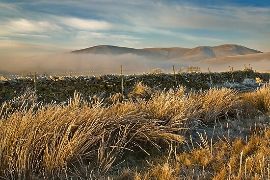 The Howgills, Cumbria by Steve  Liptrot