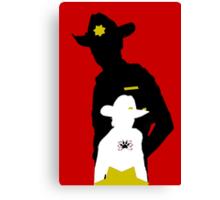 Sheriff & Son  Canvas Print