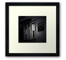 Advice for a New Year Framed Print