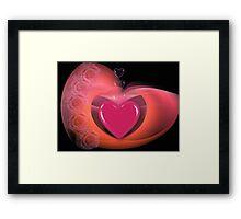 Be my Valentine! Framed Print