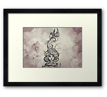 I am Earth (second version) Framed Print