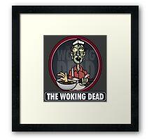 The Woking Dead Framed Print