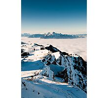Pilatus above clouds Photographic Print