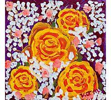 Fiery Bouquet Photographic Print