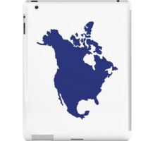 North America map iPad Case/Skin