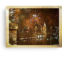 Iron Fence Canvas Print