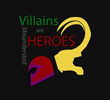 Villains are Heroes Unisex T-Shirt