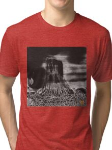 Devil's Tower Tri-blend T-Shirt