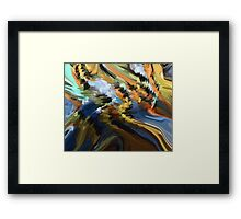 From The Painting Easel #11 Framed Print