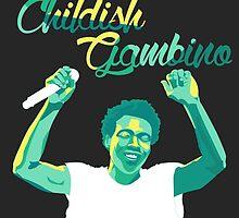 Childish Gambino by marthvader