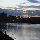 Warkworth Castle at Night in Northumberland by Waggywag