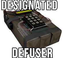 Designated Defuser by sniparsniall