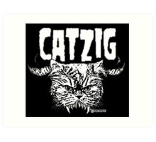 catzig Art Print
