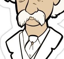 Mark Twain himself Sticker