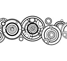 The Doctors Name in Gallifreyan by tardisimpala221
