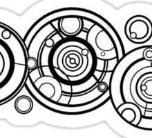 The Doctors Name in Gallifreyan Sticker