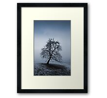 moody tree Framed Print