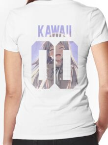 Kawaii Jersey Women's Fitted V-Neck T-Shirt
