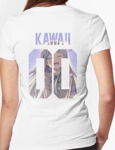 Kawaii Jersey Womens Fitted T-Shirt