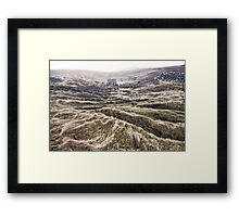 middle earth on 60N Framed Print