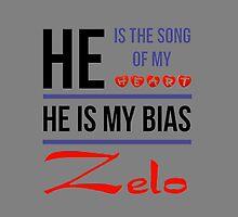 HE IS MY BIAS Zelo - Grey by Kpop Seoul Shop