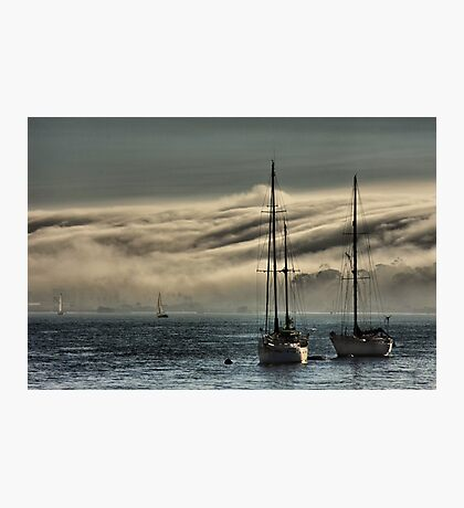 Fog Rolling In Photographic Print
