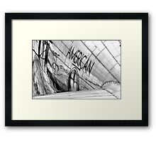 American Airlines Framed Print