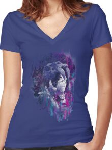 Shaman II Women's Fitted V-Neck T-Shirt