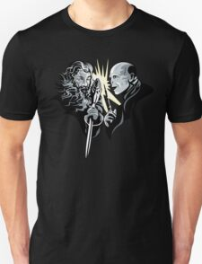 Gandalf vrs Voldemort - A Wizards Duel T-Shirt