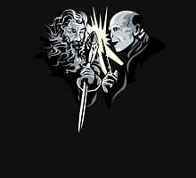 Gandalf vrs Voldemort - A Wizards Duel Unisex T-Shirt