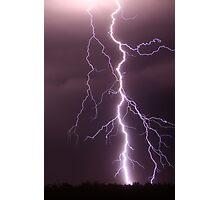 Millmerran Lightning Photographic Print