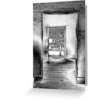 Metallic Portals Greeting Card