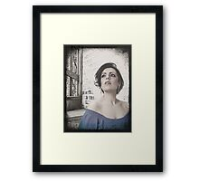 what dreams may come? Framed Print