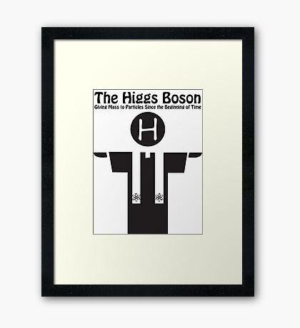 Higgs Boson Preacher Framed Print