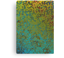 Colorful Corroded Background Canvas Print