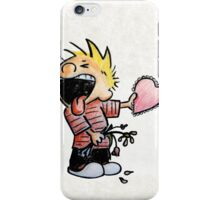 Calvin and Hobbes and Susie Fan Art iPhone Case/Skin