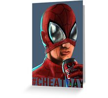 Spiderman - No background colour Greeting Card