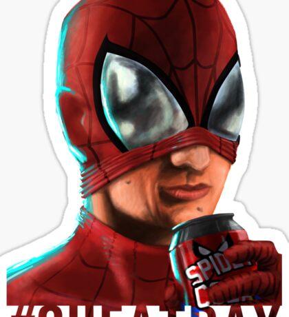 Spiderman - No background colour Sticker