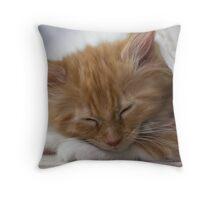 Valletta asleep Throw Pillow
