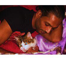 Shiva & Tiger Photographic Print
