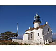 Cabrillo Lighthouse - Point Loma, California (USA) Photographic Print