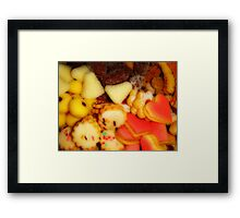 Sweet cakes Framed Print